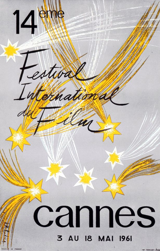 14th+International+Film+Festival+in+Cannes+in+1961