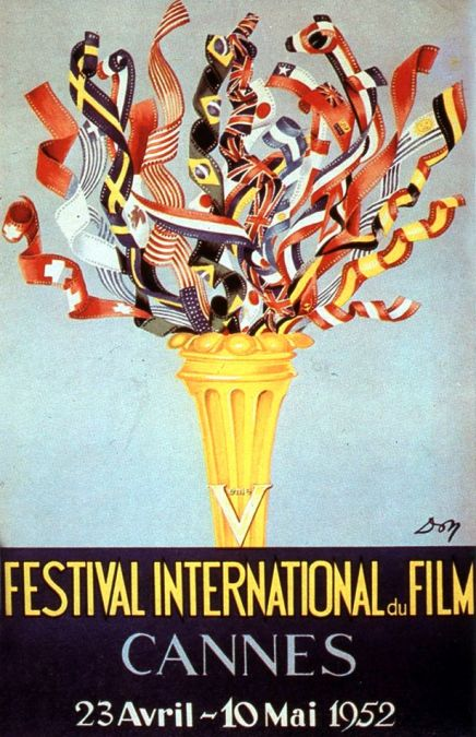 5th+International+Film+Festival+in+Cannes+in+1952